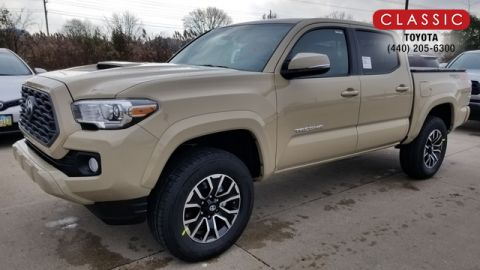 New 2020 Toyota Tacoma TRD Sport Double Cab 5' Bed V6 AT (Natl) 4WD