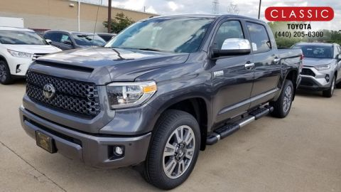 New 2019 Toyota Tundra Platinum CrewMax 5.5' Bed 5.7L (Natl) 4WD