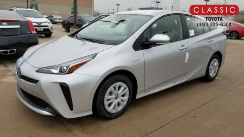 New 2020 Toyota Prius LE FWD Hatchback